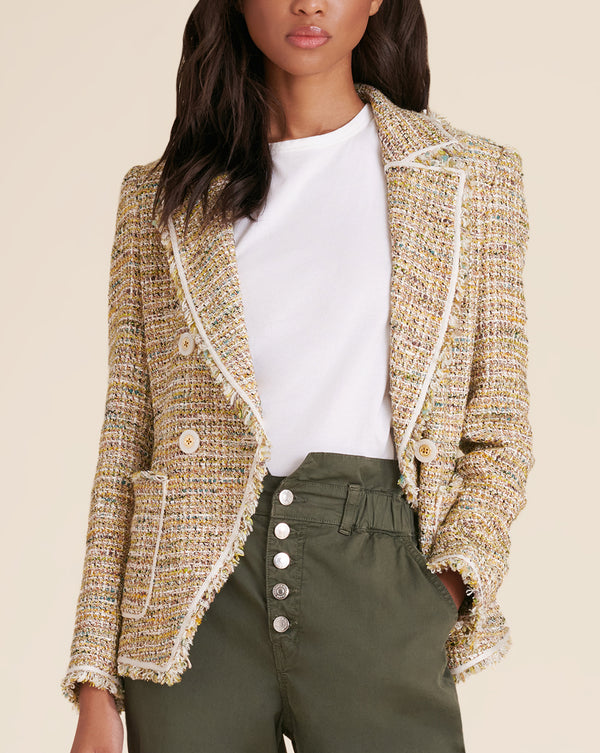 Theron Tweed Jacket - Multi
