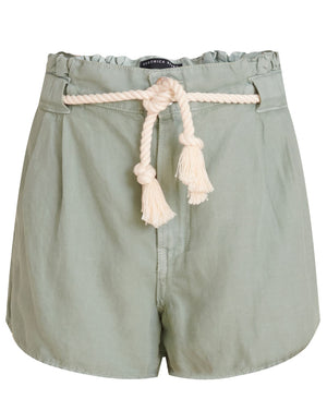 Karter Pleated Short - Sea Green