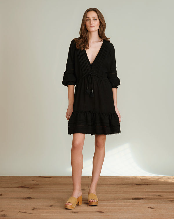 Sharmila Cover-Up Dress - Black