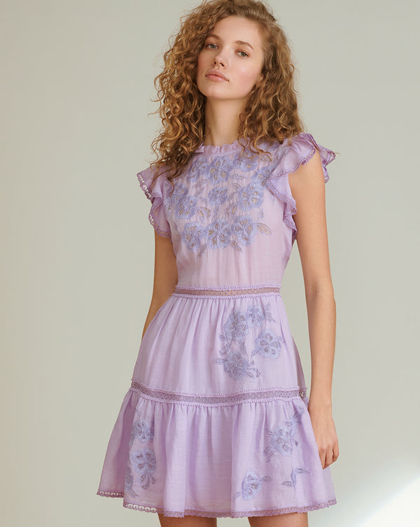 Sahara Dress - Lavender