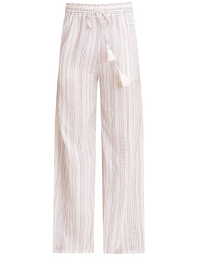 Carmi Pant - Off-White/blue