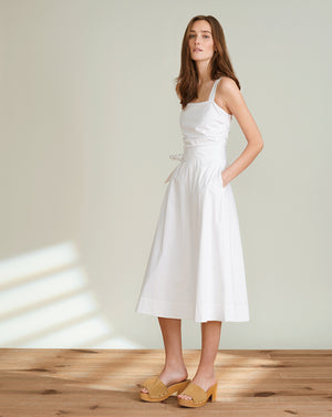 Positano Dress - White