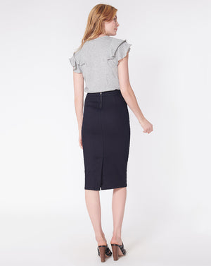 Rowan Sailor Pencil Skirt
