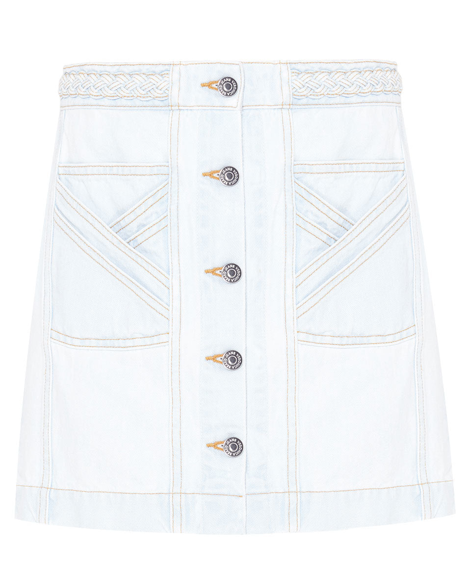 Aron Braided Mini Skirt