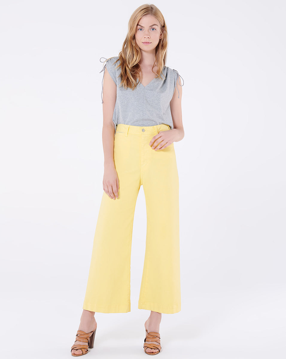 Cynthia Cropped Wide-Leg