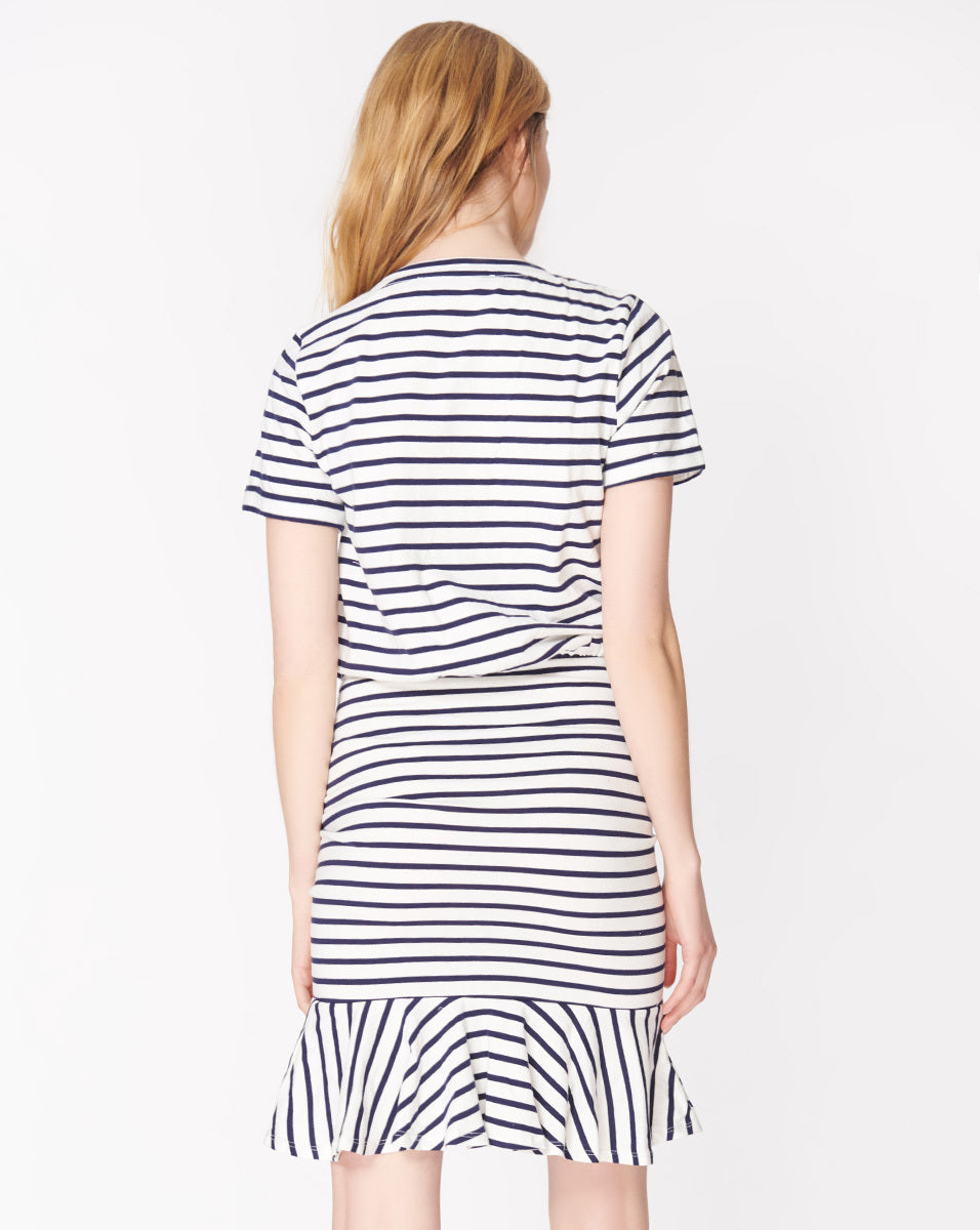 Pima Ruched Dress