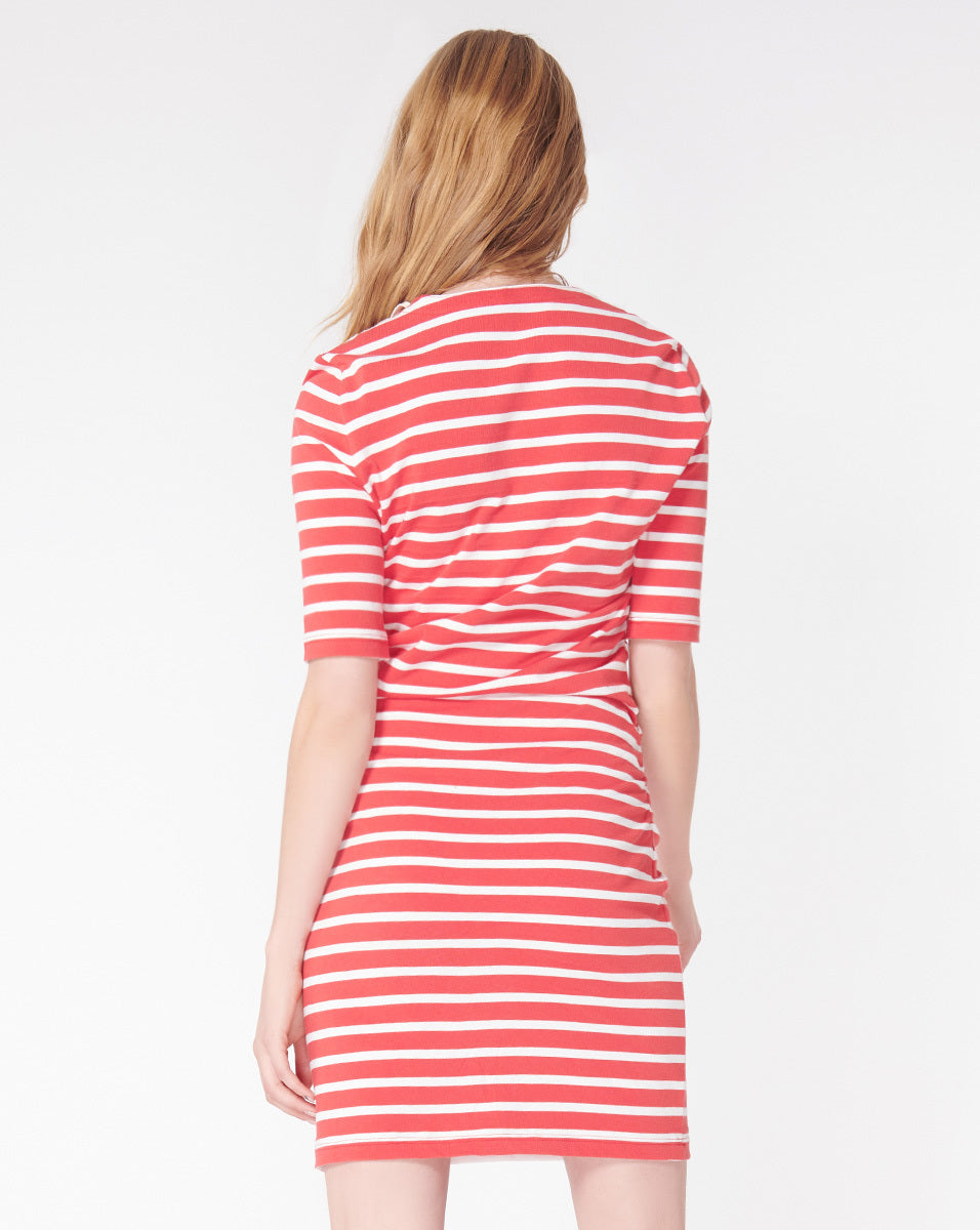 Foley Ruched Dress