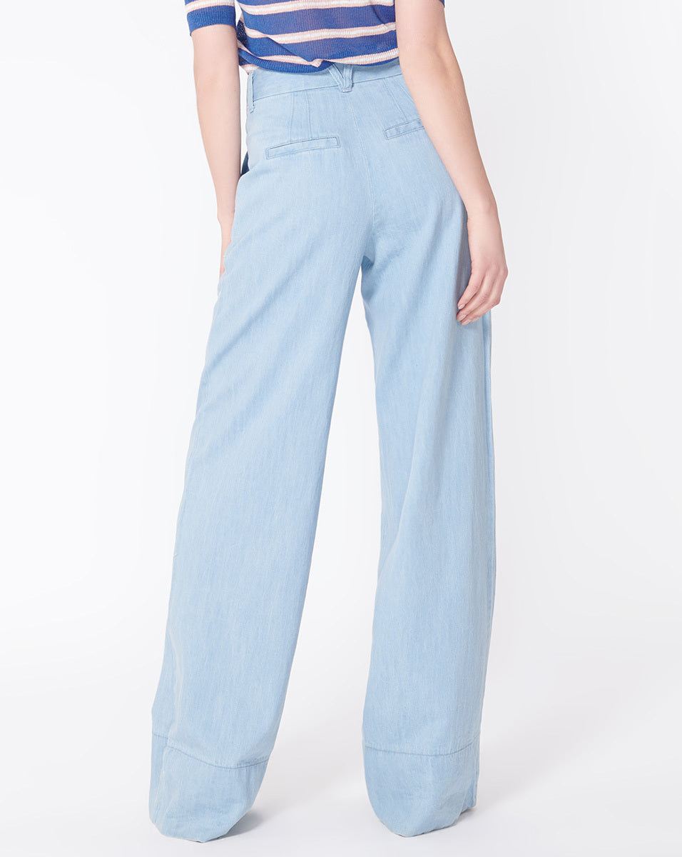 Layla Pleat Front Pant