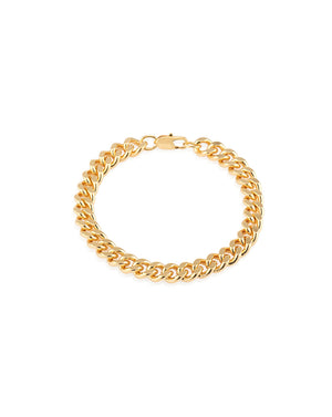 Ava Curb Chain Bracelet - Gold