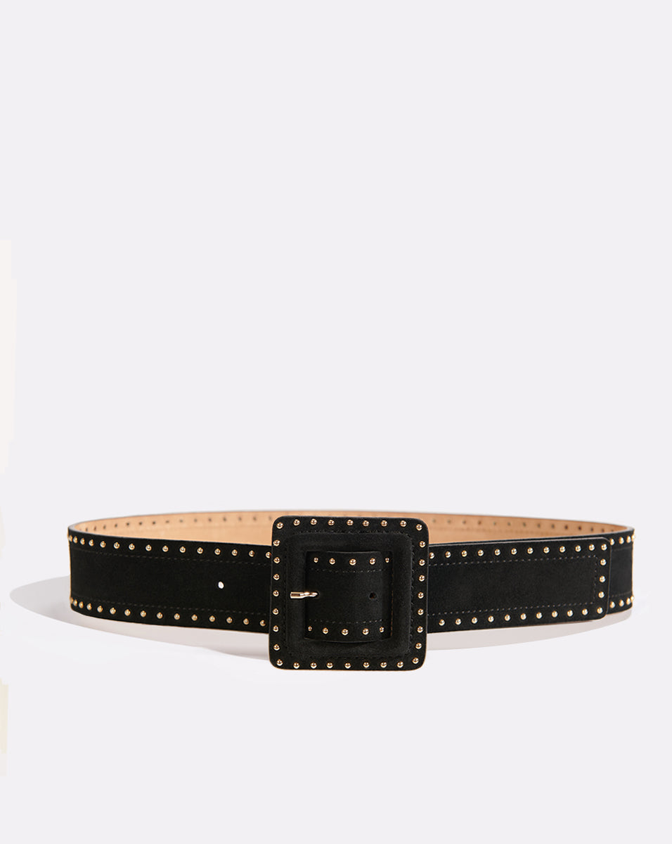 Aluma Belt - Black/gold