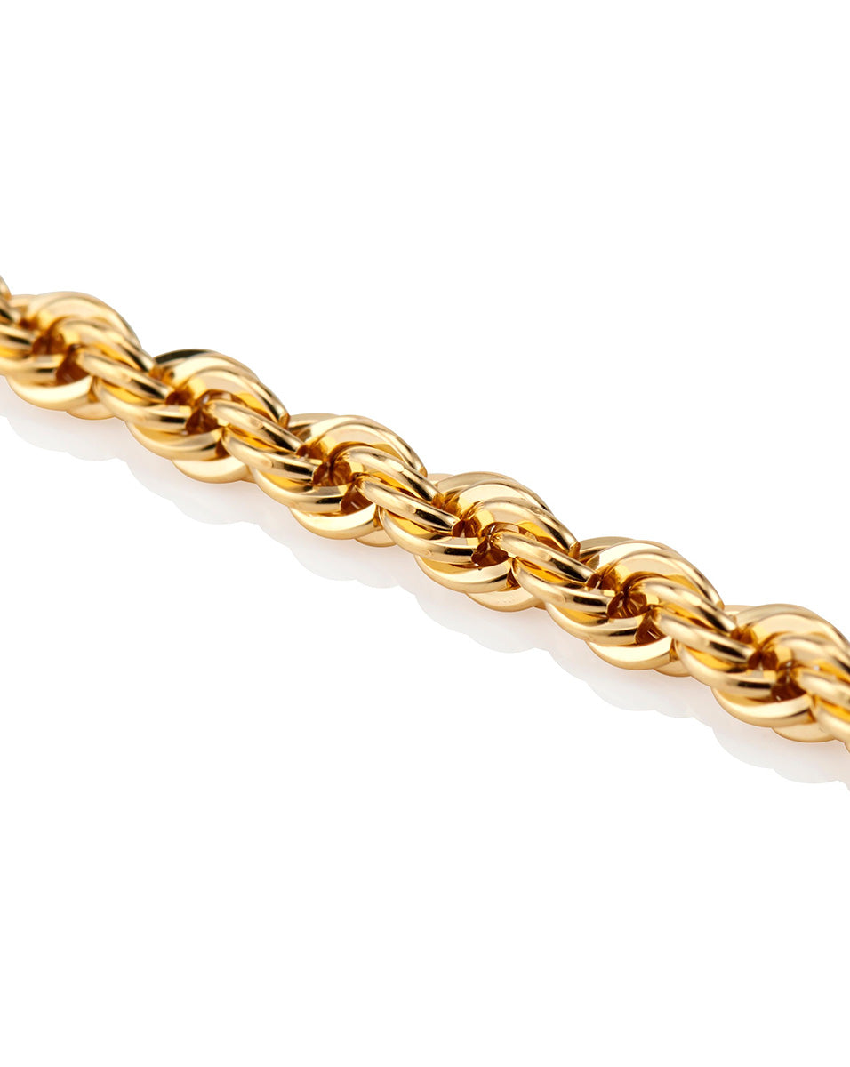 Chloe Rope Necklace - Gold