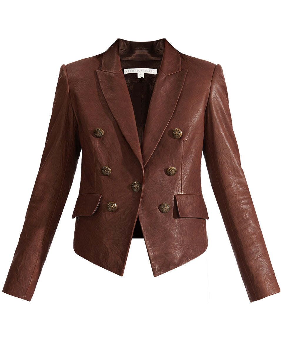 Cooke Leather Jacket - Brown