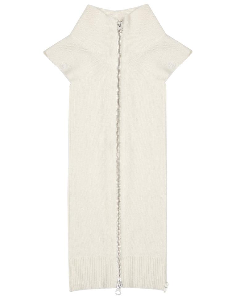 Cashmere Uptown Dickey - Ivory