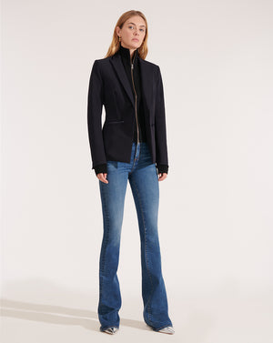 Cashmere Uptown Dickey - Black