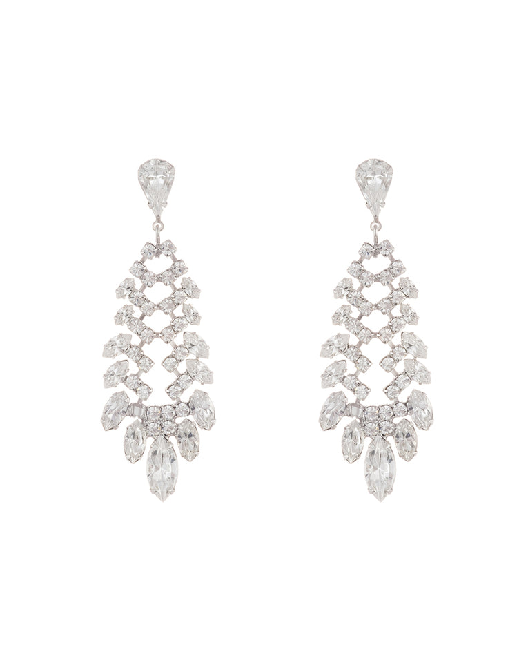 Lali Earrings - Silver