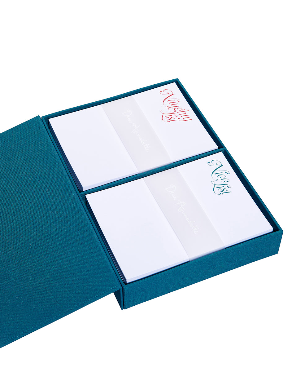 Noel Notepad Set - Multi