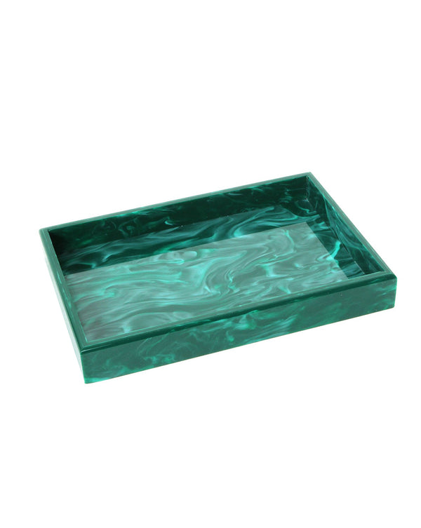 Vanity Tray - Malachite