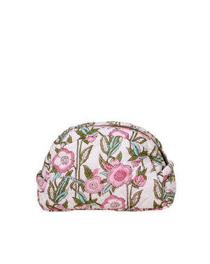 Smilla Make Up Bag - White/Pink