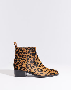 Tanner Haircalf Boot - Leopard