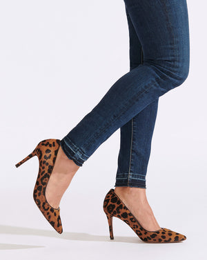 Aurora Haircalf Pump - Leopard