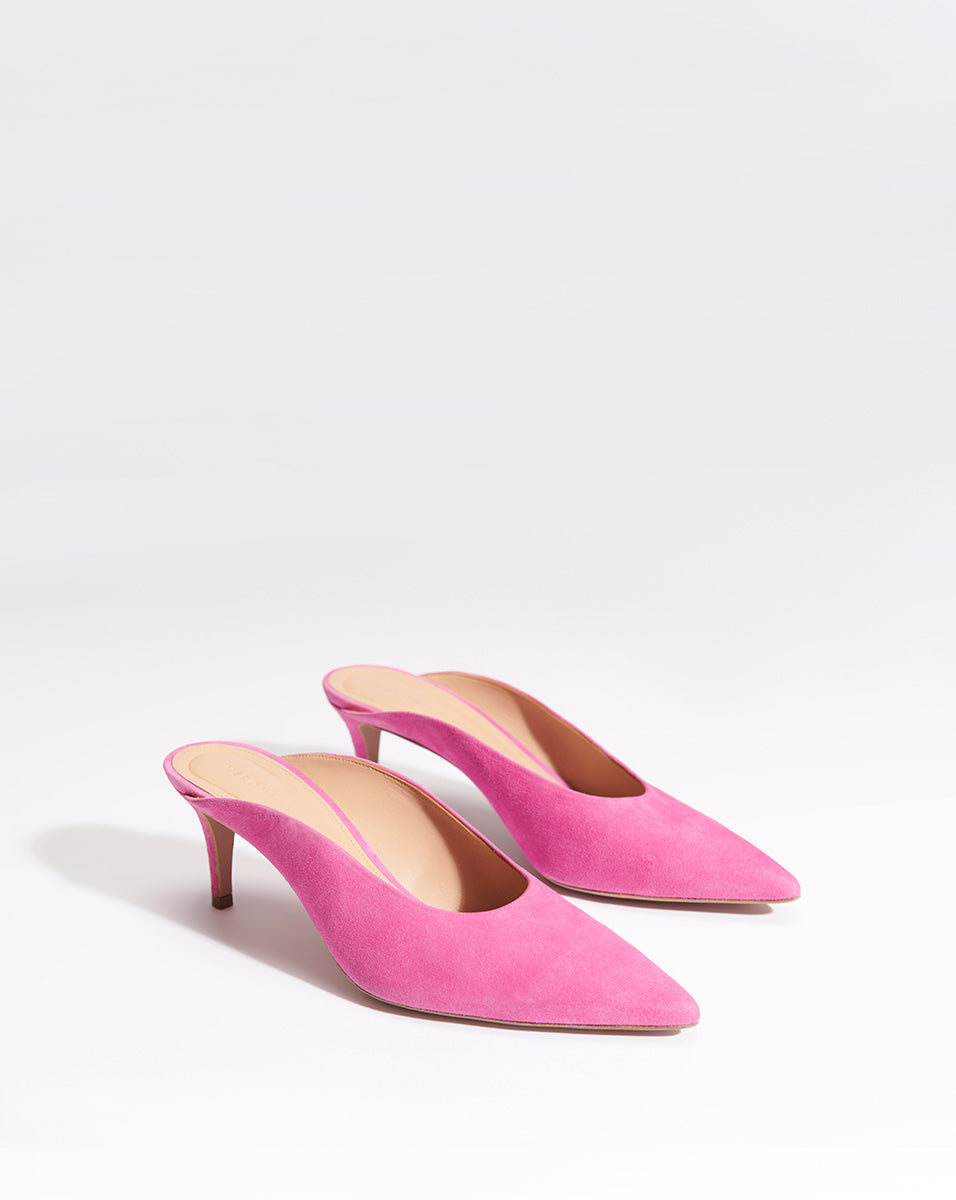 Taran Fine Suede - French Rose