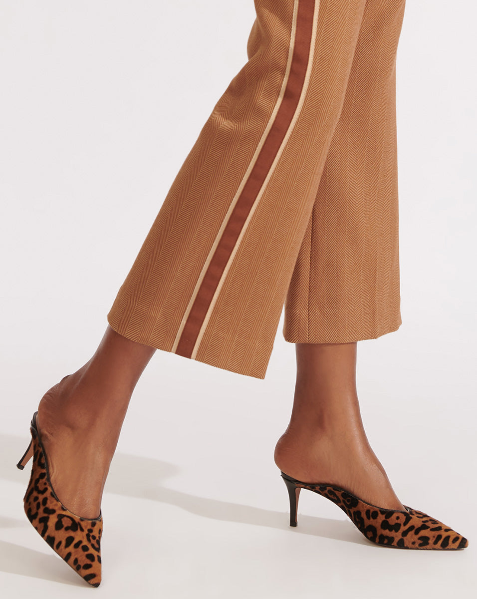 Taran Haircalf Mule - Leopard