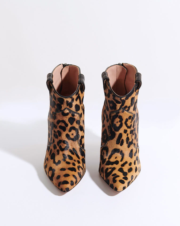 Loretta Haircalf Boot - Leopard