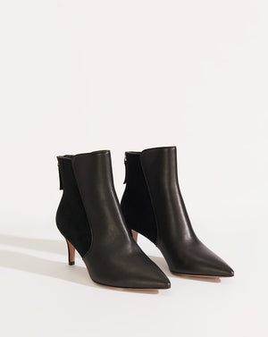 Josie Calf/suede - Black