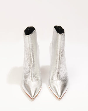 Jovanna Metallic Leather - Silver