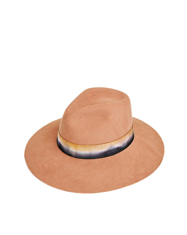 Maple Wool Tie Dye Hat - Camel