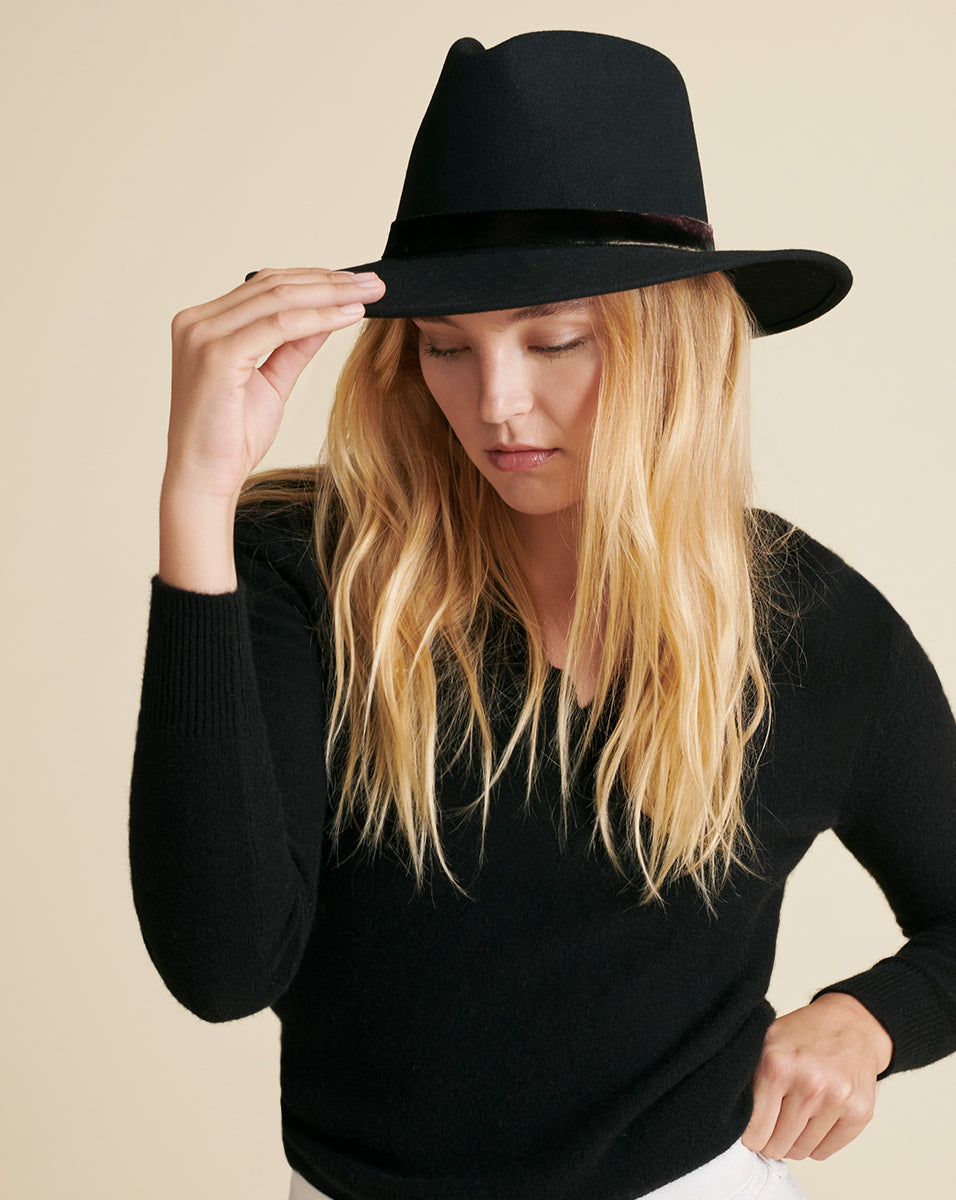 Sycamore Wool Hat - Black