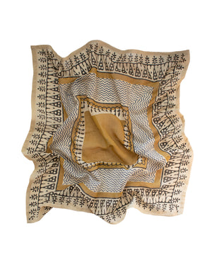 Sol Bandana - Gold Multi