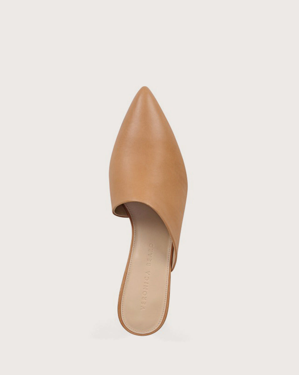 Ricky Wedge Mule - Nude