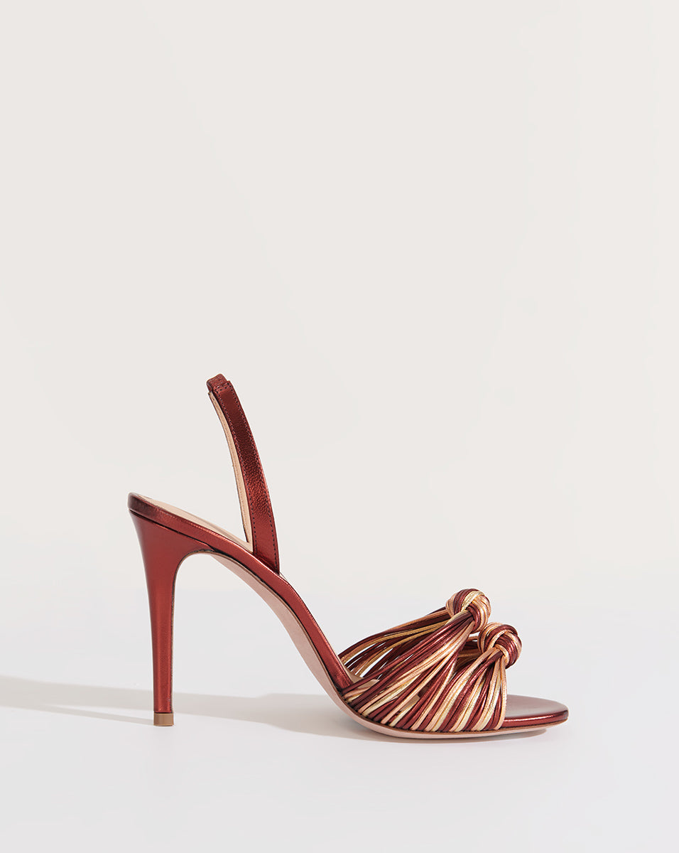 Alessia Knotted Stiletto Sandal