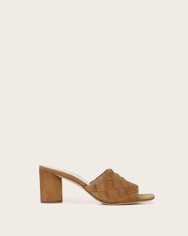 Kiele Leather Mule - Pecan