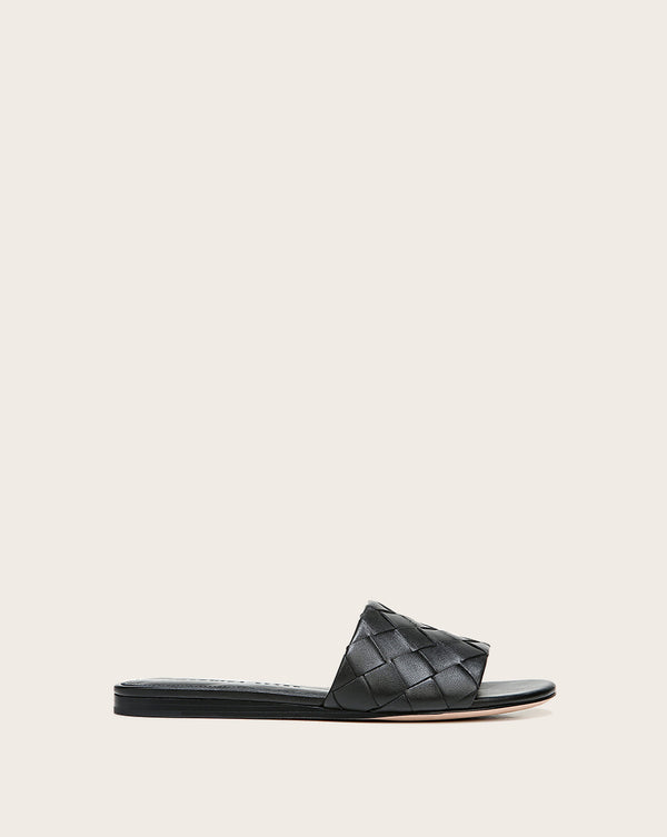 Senta Slide Sandal - Black