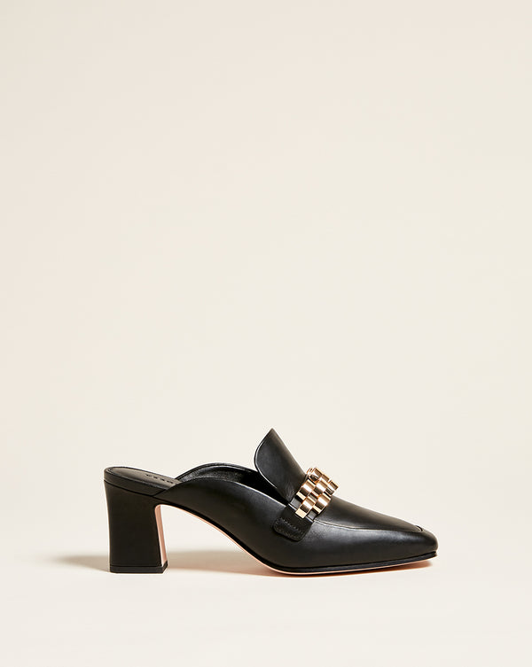 Bera Loafer Mule - Black