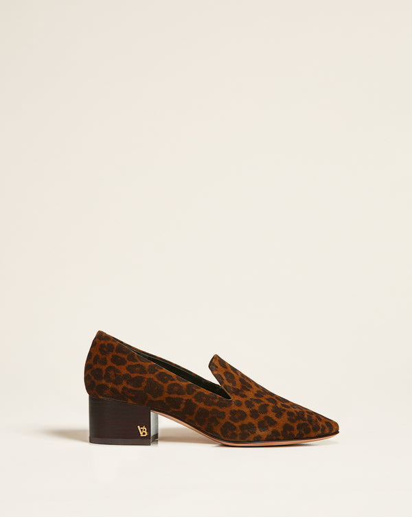 Baylie Heeled Loafer - Camel