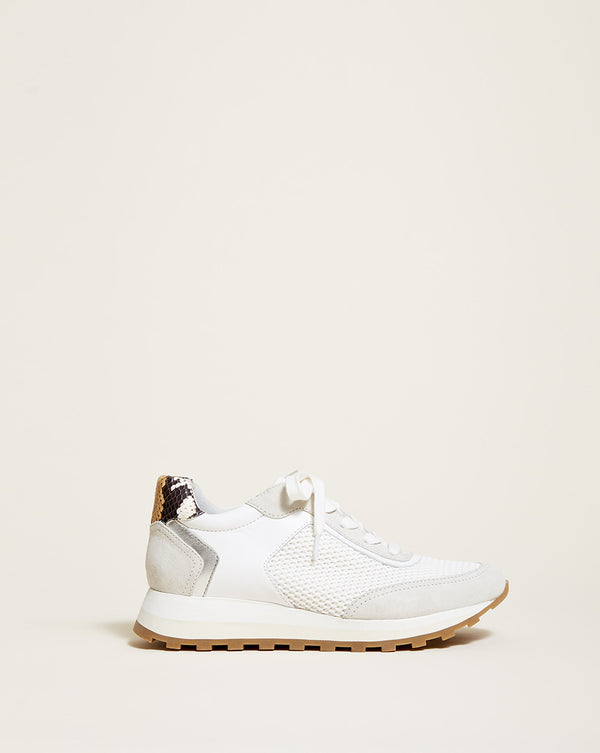 Hartley Mesh Sneaker - White