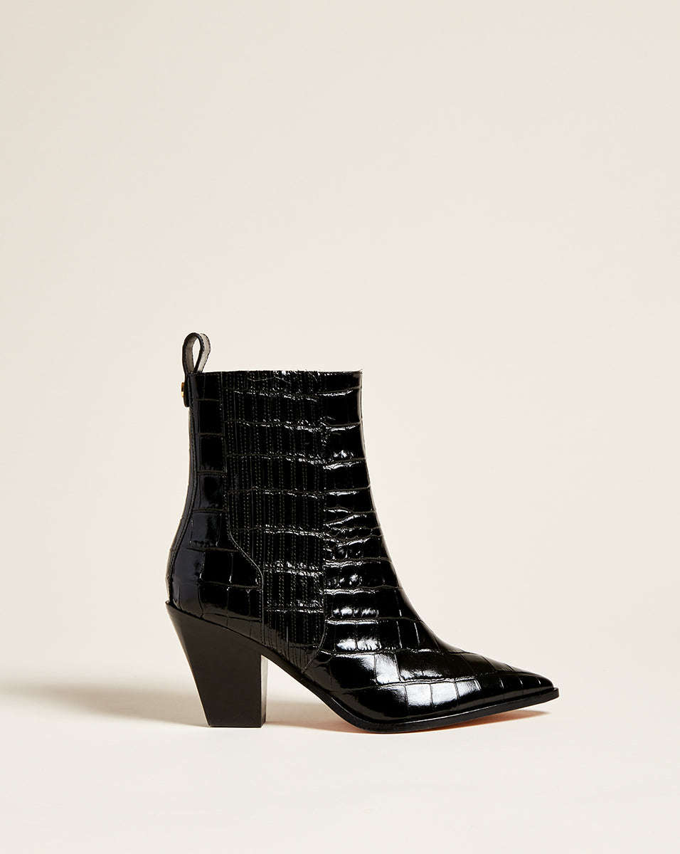 Sanai Chelsea Ankle Boot - Black