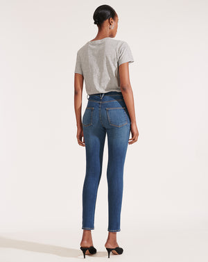 Kate High Rise Skinny - Nantucket