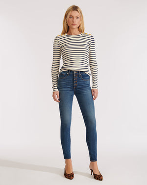 Debbie High-Rise Skinny Jean - Nantucket