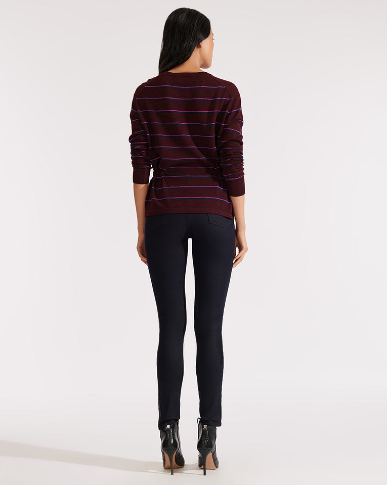 Kate High Rise Skinny W/ Tux - Indigo