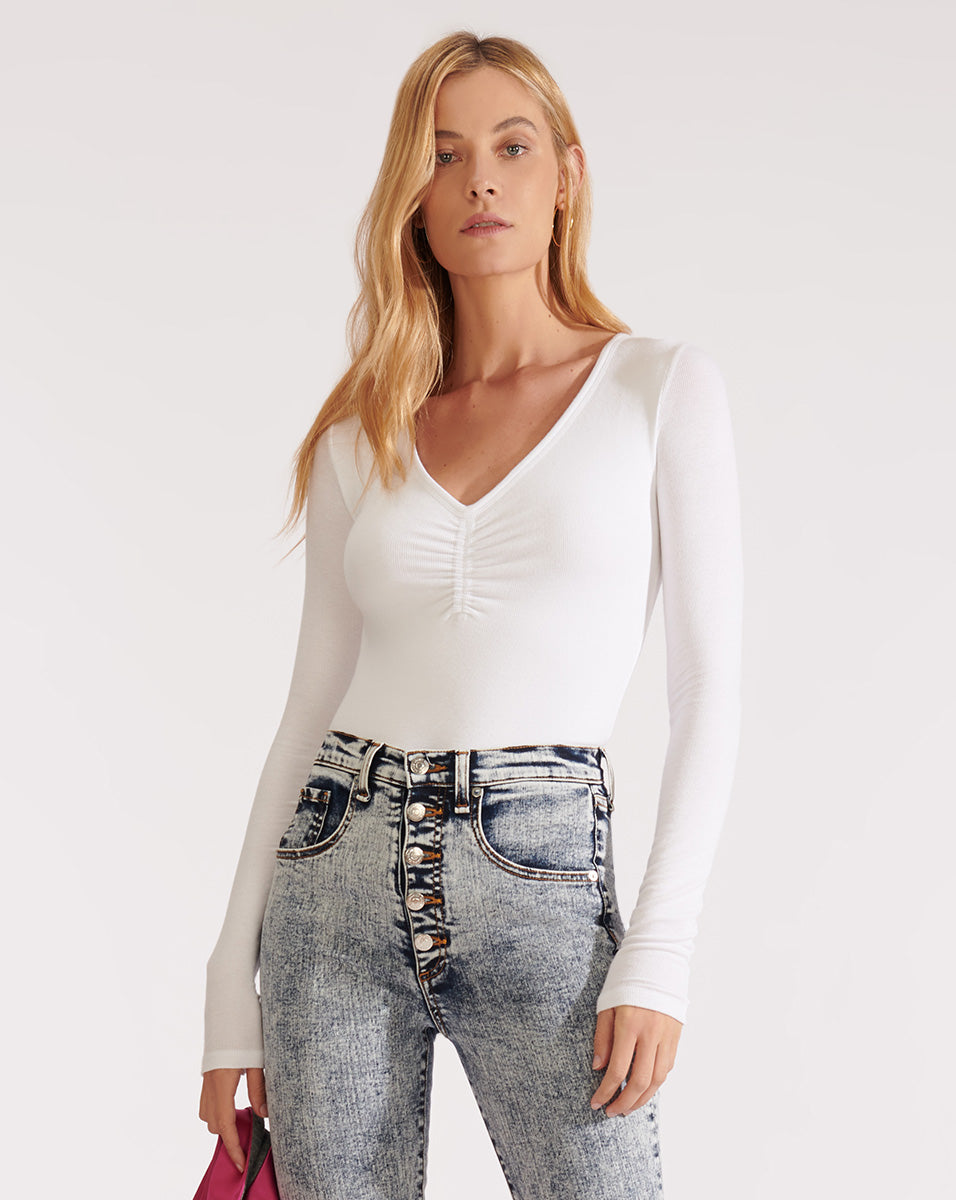 Bacall Top - White