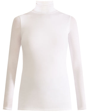 Wyeth Turtleneck - White