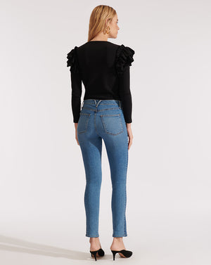 Kate High Rise Skinny - Two Tone