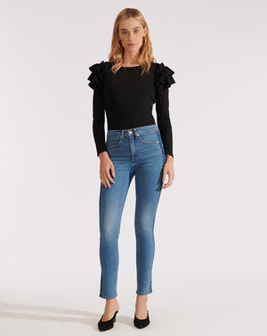 Segrist Top - Black