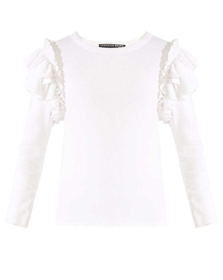 Segrist Top - White