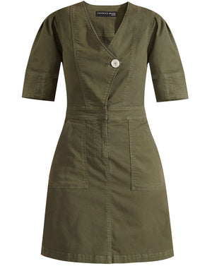 Bree Dress - Army Green