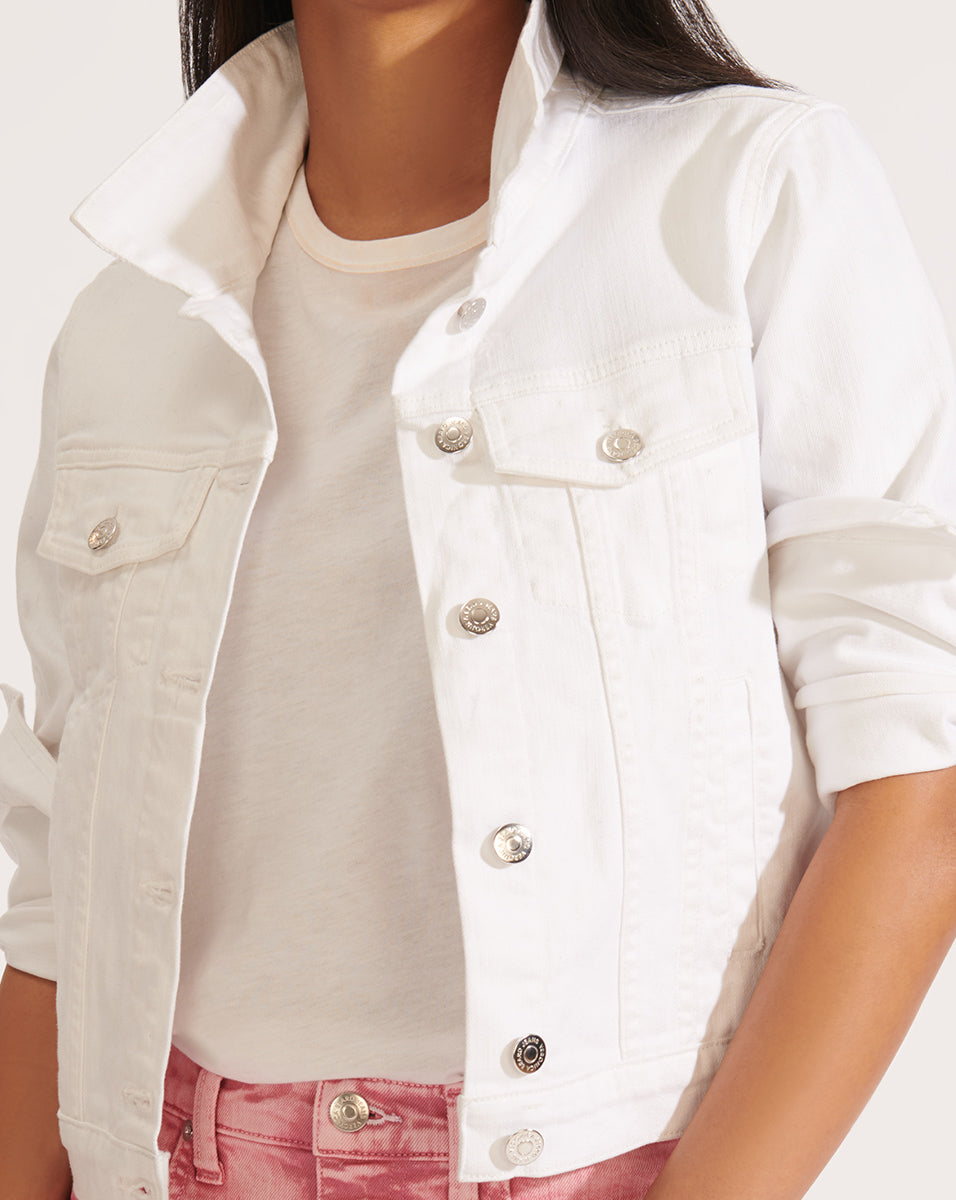 Cara Jean Jacket - White